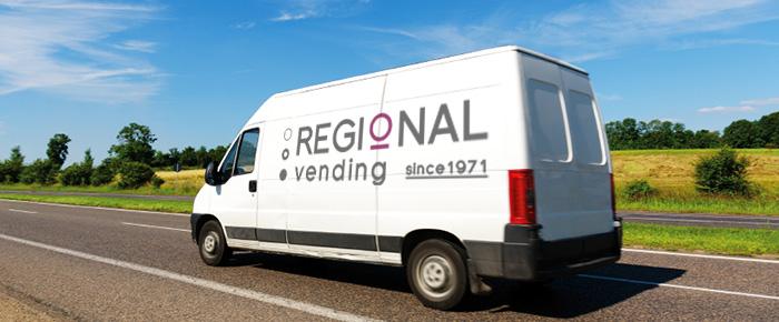 regional vending van