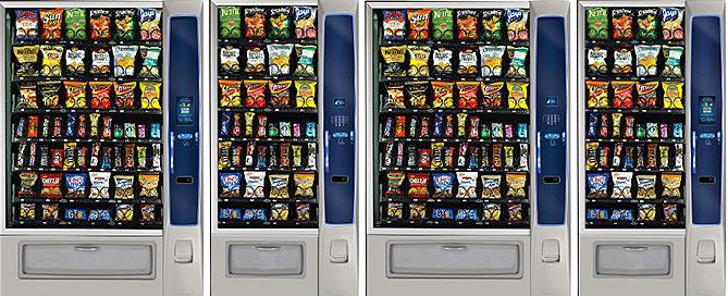 snack food vending machines