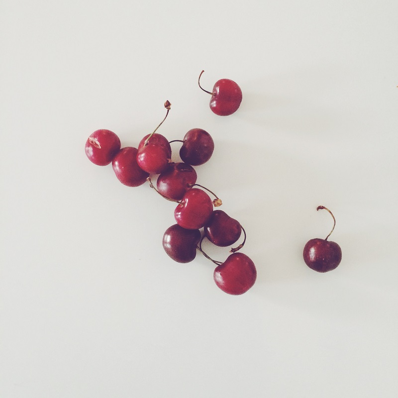 Fresh Cherries from Vending Machine