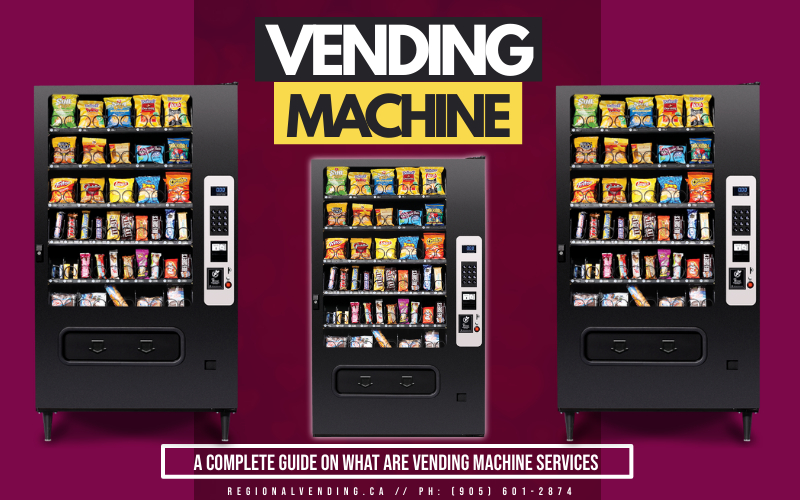 A Complete Guide on What are Vending Machine Services